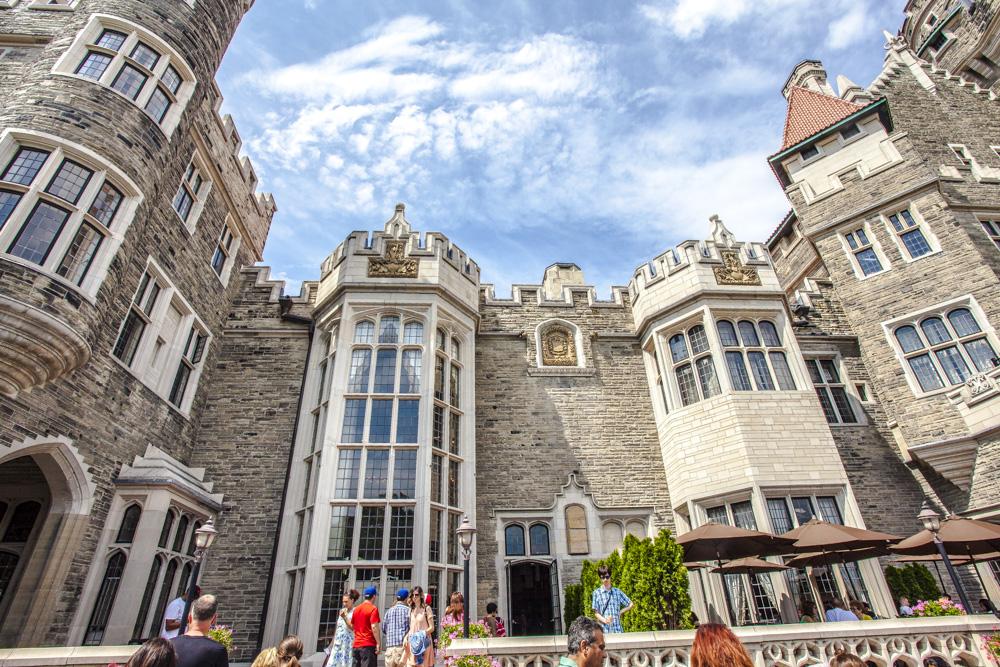 Kanada Toronto Canada Fotograf Casa Loma Sir Henry Pellatt Sehenswürdigkeit Sightseeing Toronto Pass Schloss Stadtschloss
